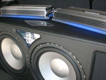 2008 Yukon - Kenwood Multimedia with Navigation, Diamond D-6 Power Amplifier and Subwoofers with Custom Bass Box, Diamond Hex Pro Component Speaker System and Accumat Sound Dampening.