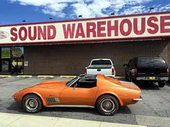 1971 Chevrolet Corvette Stingray. Installed a Pioneer CD/MP3 Receiver.