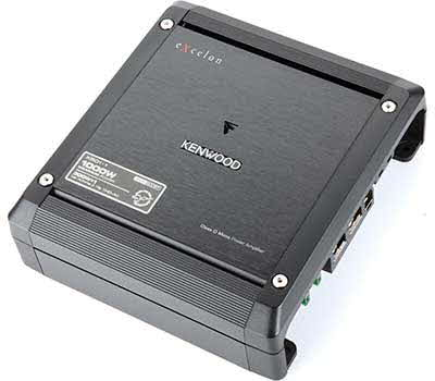 KENWOOD eXcelon Class-D Mono Amplifier