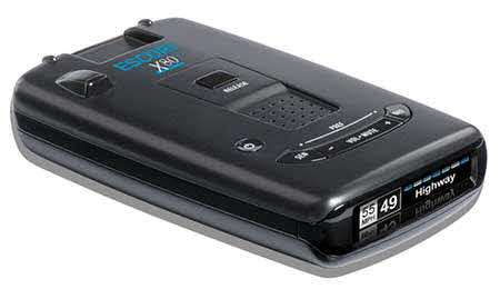 ESCORT Radar detector with Bluetooth