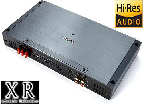 KENWOOD eXcelon 2000W Max (1000W RMS) XR Series 2-ohm Stable Class-D Monoblock Amplifier w/ Bass Knob Included
