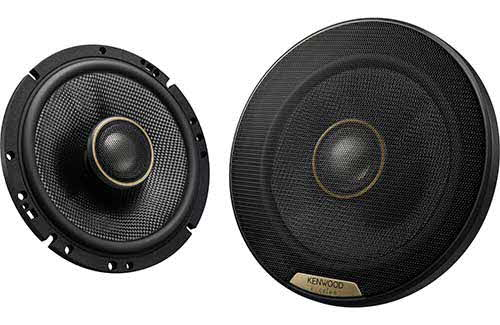 "KENWOOD EXCELON High-Resolution Audio Certified 6-1/2"" 2-way Speaker"