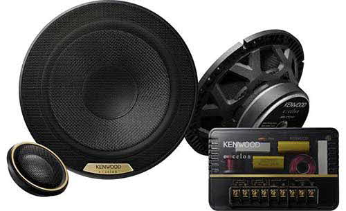 "Kenwood Excelon High-Resolution Audio Certified 7"" Component Speaker"