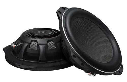 "KENWOOD Excelon Series Shallow-mount 10"" 4-ohm subwoofer"