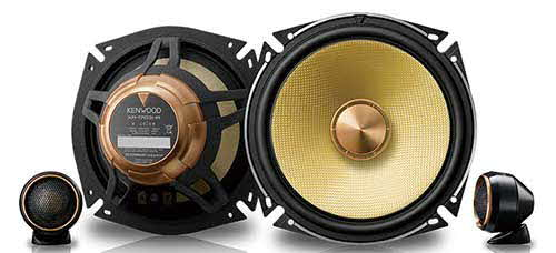Kenwood Excelon Performance Series Component Speaker System
