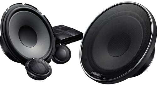 "Kenwood 7"" 2-Way eXcelon XR-Series Component Car Speakers"