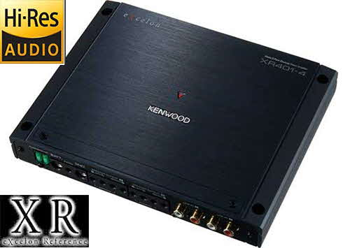 KENWOOD Reference Series 4-channel car amplifier � 75 watts RMS x 4