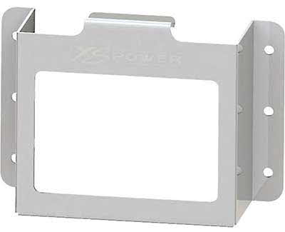 XS POWER Side-mount stamped aluminum box with window