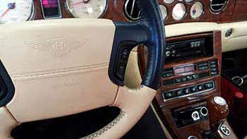 1999 Bentley. We modernized the head unit replacing the cassette player with a Kenwood CD/USB.