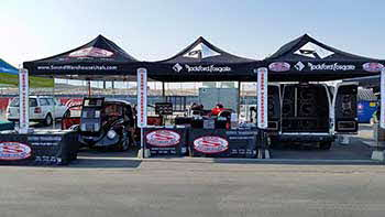 Saturday and Sunday August 22nd - 23rd out at Miller Motor Sports Park for the Exotic Supercar Grand Prix with Kenwood and Rockford